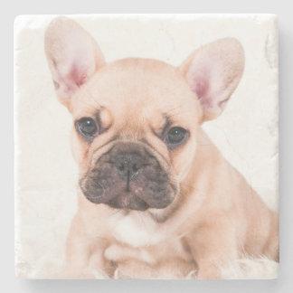 Französische Bulldogge Steinuntersetzer