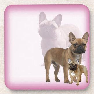 Französische Bulldogge Untersetzer