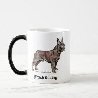 Französische Bulldogge! Verwandlungstasse