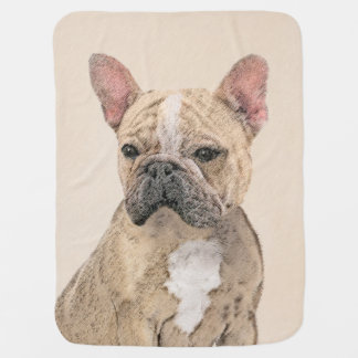 Französische Bulldogge (Zobel) Babydecke