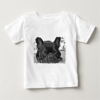 Französische Bulldoggen-Baby-T - Shirt