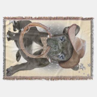 Französische Bulldoggen-Decke Decke