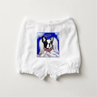 Französische Bulldoggen-Engel Baby-Windelhöschen