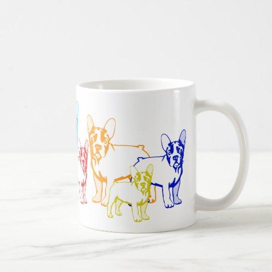 Französische Bulldoggen Geschenke Kaffeetasse