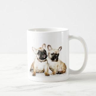 Französische Bulldoggen Kaffeetasse