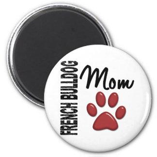 Französische Bulldoggen-Mamma 2 Kühlschrankmagnete
