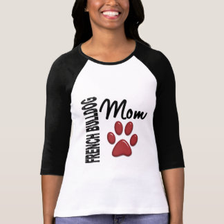 Französische Bulldoggen-Mamma 2 T-Shirt