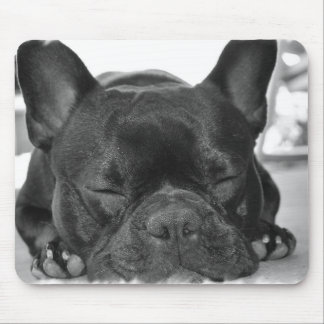 Französische Bulldoggen-Mausunterlage Mousepad
