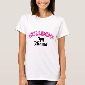 Französische Bulldoggen-Mutter T-Shirt