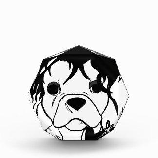 Französische Bulldoggen-Reihe - Ed Scissorpaw Auszeichnung