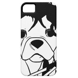 Französische Bulldoggen-Reihe - Ed Scissorpaw Barely There iPhone 5 Hülle