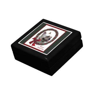Französische Bulldoggen-Weihnachten Geschenkbox