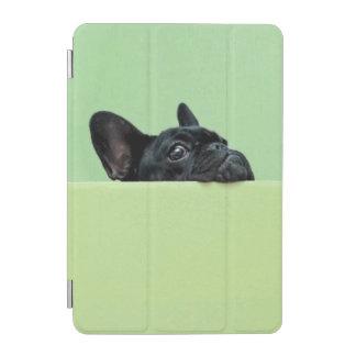 Französische Bulldoggen-Welpe, der über Wand iPad Mini Hülle