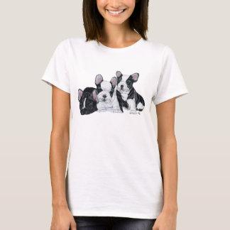 Französische Bulldoggen-Welpen T-Shirt