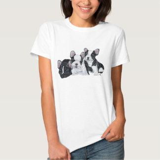 Französische Bulldoggen-Welpen T-Shirts