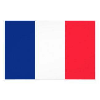 Französische Flagge Briefpapier