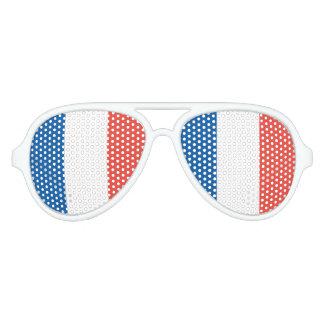 Französische Flagge Partybrille