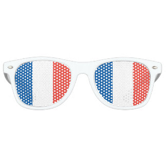 Französische Flagge Sonnenbrille