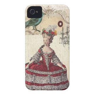Französische Königin Marie Antoinette des Vintagen iPhone 4 Cover