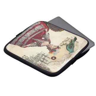 Französische Königin Marie Antoinette des Vintagen Laptop Sleeve