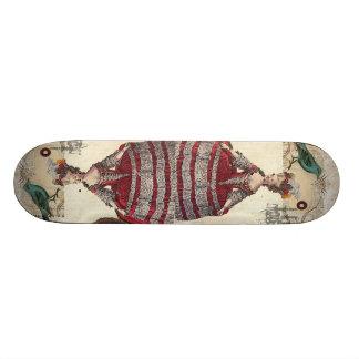 Französische Königin Marie Antoinette des Vintagen Skateboard Bretter