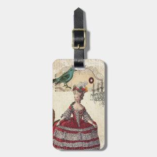 Französische Königin Marie Antoinette Gepäckanhänger