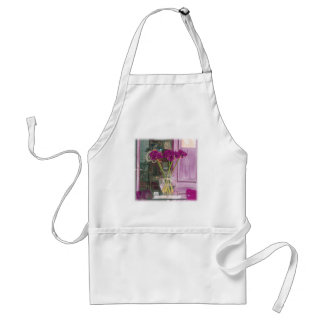 Französische lila Blume Schürze