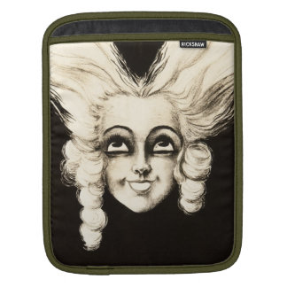 Französische Marionette Vintages Aristrocrat Sleeve Für iPads