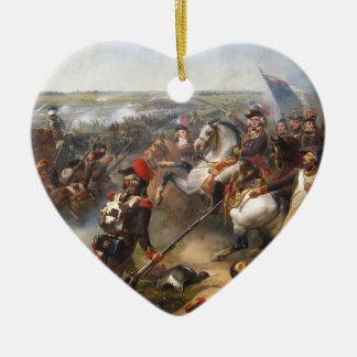 Französische Revolutions-Kampf Keramik Herz-Ornament