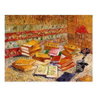 Französische Romane u. feine Kunst Van Gogh der Postkarte