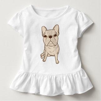 Französische Sahnebulldogge Kleinkind T-shirt