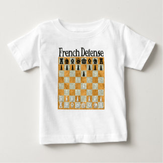 Französische Verteidigung Baby T-shirt