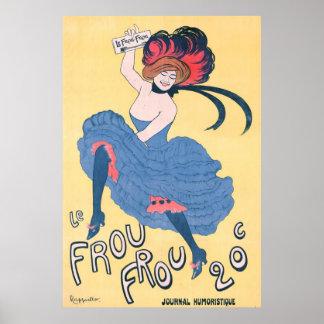 Französische Zeitschriften-Anzeige 1899 Plakate