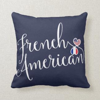 Französischer Amerikaner entwirrtes Kissen