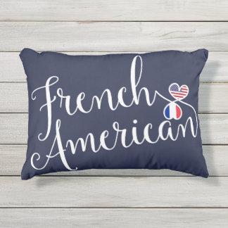 Französischer Amerikaner entwirrtes Kissen Für Draußen