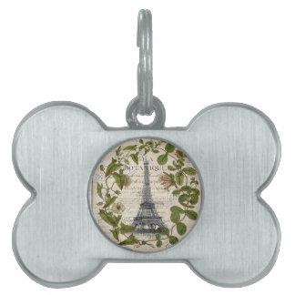 französischer botanischer Efeu verlässt Turm Paris Tiermarke