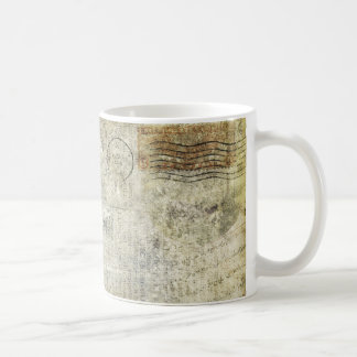 Französischer Buchstabe Kaffeetasse