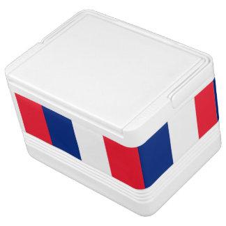 Französischer Flaggeniglu kann cooler Igloo Kühlbox