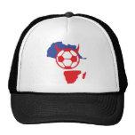 französischer Fußballteufel Afrika-Form Netzmütze