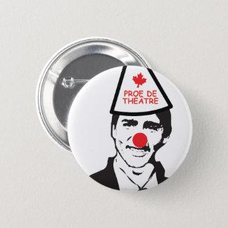 Französischer Justin Theaterprof Clown Kanada Runder Button 5,1 Cm