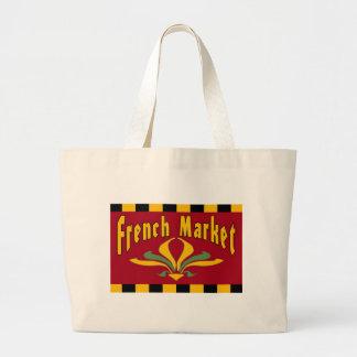 Französischer Markt New Orleans Jumbo Stoffbeutel