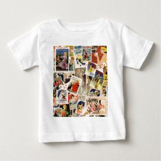 Französischer Montageentwurf 2 Baby T-shirt