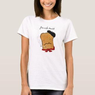 Französischer Toast-Damen-T-Shirt T-Shirt