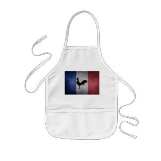 Französisches coq kinderschürze