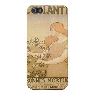 Französisches elegantes Anzeige Plakat iPhone 5 Hülle