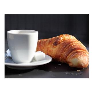 französisches Frühstück 2 Postkarten