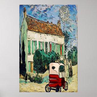 Französisches Haus 1915 Poster
