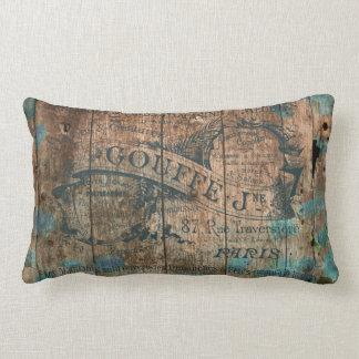 Französisches historisches des Vintagen Kissen
