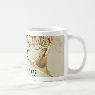 Französisches Horn-Musik-Raum Tasse