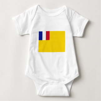 Französisches Indochina-Flagge (1887-1954) Baby Strampler